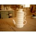 日本陶瓷比薩斜塔杯壺