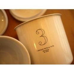 日本123 輕琺瑯置物罐