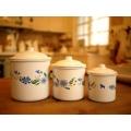 日本北歐小馬輕琺瑯置物罐