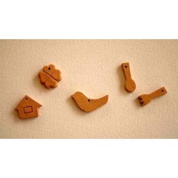 日本紅陶燒製飾品
