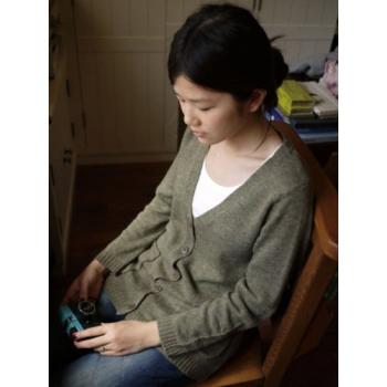 日本BLUE毛質上衣外套