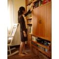 日本B.L.U.E 深咖啡色裙衣
