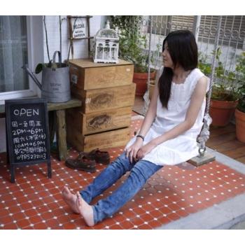 純白棉質裙衣