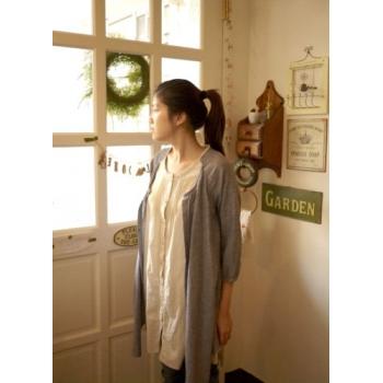 日本抗UV棉麻假兩件式裙衣