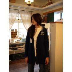 日本Portland深藍色外套上衣