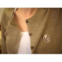 日本SM2淺棕亞麻色毛質上衣外套