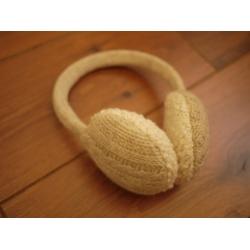 再入荷!日本毛線暖暖耳罩