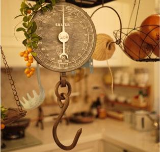 第一個古董吊秤