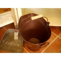 日本巧克力木把水桶