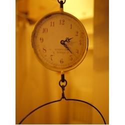 日本仿古時鐘吊秤