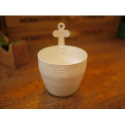 日本十字鋁製花器置物盒