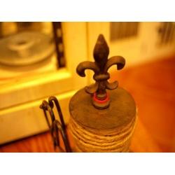 日本麻繩線軸剪刀鑄鐵架