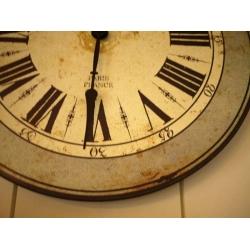 法國木製掛鐘1