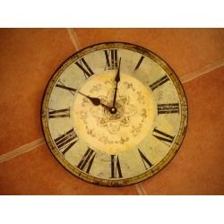 法國木製掛鐘2