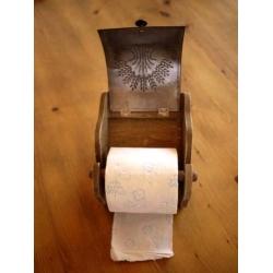 日本復古捲筒衛生紙架毛巾架