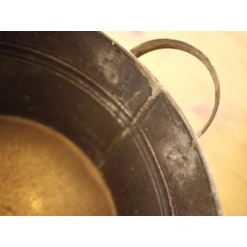 日本大雙耳馬口鐵花器