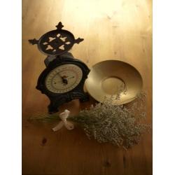 瑞典1950年代黑色玫瑰古董秤