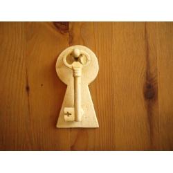 日本復古米黃鑄鐵門扣