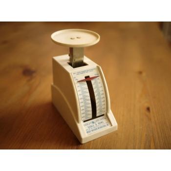 美國1960年代古董迷你郵件秤