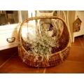 日本寬48公分大型藤籃