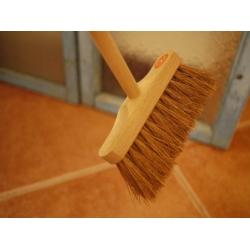 日本製實木鬃毛長柄刷