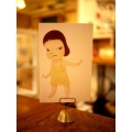 日本銅製留言名片卡片夾