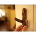 日本仿古木頭質感壁掛勾(咖啡刷色)