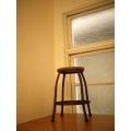 日本復古木板凳鐵椅