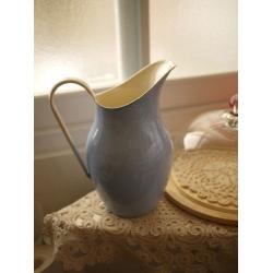 波蘭琺瑯冷水壺花器