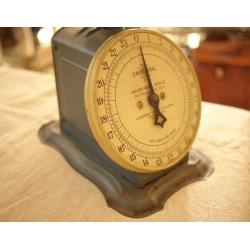 美國1900年代灰藍色古董秤