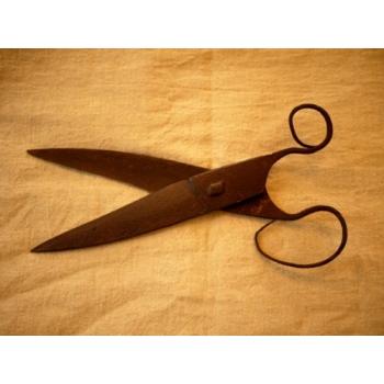 美國1750年代古董手工鑄鐵剪刀