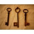德國1900~1930年代古董鑰匙(大)