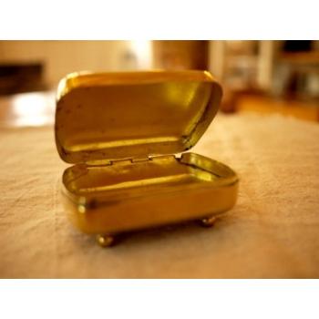 日本復古銅製皂盒