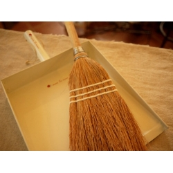 日本實木手工天然掃帚