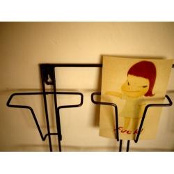 日本鐵製明信片書信架