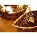 日本雙船型籐籃