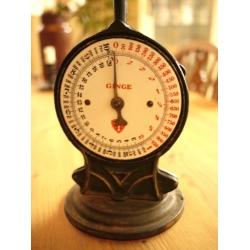 德國GINGE1920年銅盤鑄鐵秤