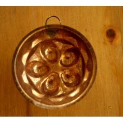 德國老紅銅烤模廚房掛飾2