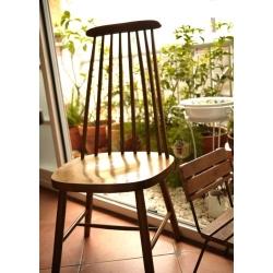 歐洲古董橡木溫莎椅
