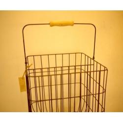 日本單木把隔層大鐵絲籃