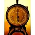 德國1920年代銅面古董秤