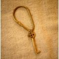 日本金屬黃銅鑰匙圈