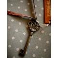 日本真皮革古著項鍊