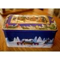 德國老聖誕音樂盒(雪景)