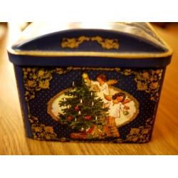 德國老聖誕音樂盒(雪橇)