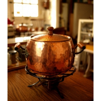 瑞士老銅鍋起司鍋組