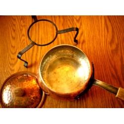 瑞士老銅鍋湯鍋(含架)
