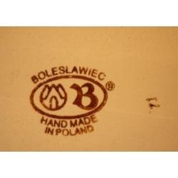 波蘭國寶手繪陶瓷板(大)
