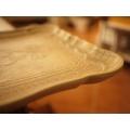 日本復古仿石托盤