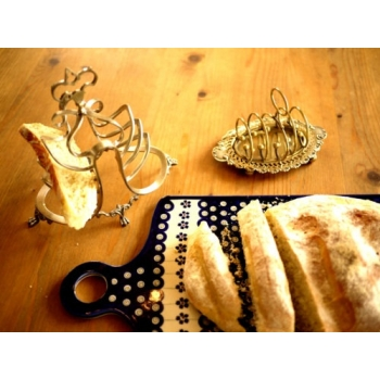 英國1880年代土司麵包架1